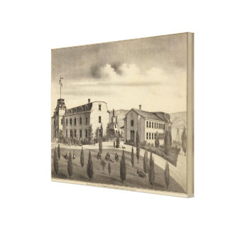 Washington College, Calif Stretched Canvas Print