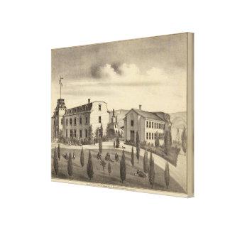 Washington College, Calif Stretched Canvas Print