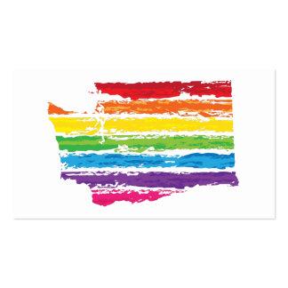 washington color strokes business card