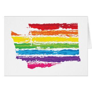 washington color strokes card