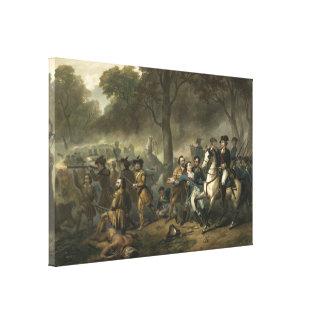 """""""Washington como un soldado"""" envolvió la impresión Lona Estirada Galerias"""