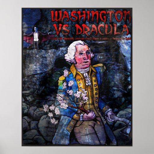 Washington contra Drácula Poster