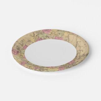 Washington County, Maine Paper Plate