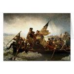 Washington Crosses The Delaware Greeting Card