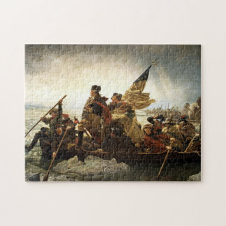 Washington Crosses The Delaware River Jigsaw Puzzle