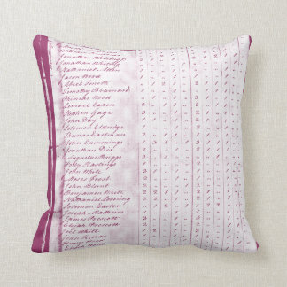 Washington Crosses thee Delaware with our Grandpa. Throw Pillow