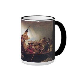 Washington* Crossing Delaware River Mug*