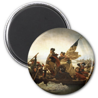 Washington Crossing the Delaware - 1851 2 Inch Round Magnet