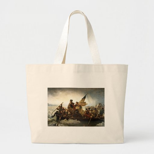 Washington Crossing the Delaware - 1851 Bags
