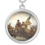 Washington Crossing the Delaware - 1851 Custom Necklace
