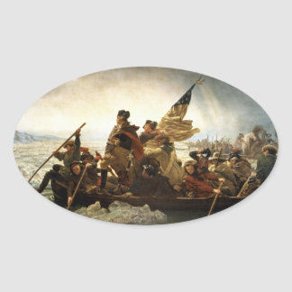 Washington Crossing the Delaware - 1851 Stickers