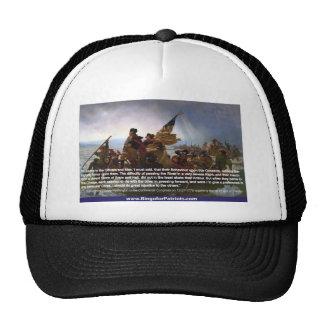Washington Crossing the Delaware #1 Mesh Hats