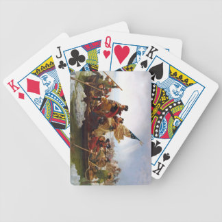 Washington Crossing the Delaware Bicycle Playing Cards