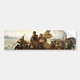 Washington Crossing the Delaware Bumper Sticker