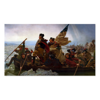 Washington Crossing the Delaware Business Card Templates