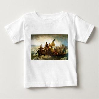 Washington Crossing the Delaware by Emanuel Leutze Baby T-Shirt