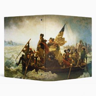 Washington Crossing the Delaware by Emanuel Leutze Binder