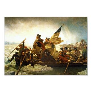 Washington Crossing the Delaware by Emanuel Leutze Card