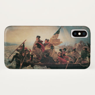 Washington Crossing the Delaware by Emanuel Leutze iPhone X Case