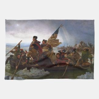 Washington Crossing the Delaware by Emanuel Leutze Kitchen Towel