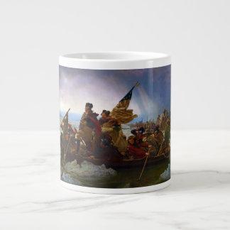 Washington Crossing the Delaware by Emanuel Leutze Large Coffee Mug