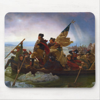 Washington Crossing the Delaware by Emanuel Leutze Mouse Pad