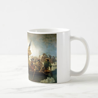 Washington Crossing the Delaware by Emanuel Leutze Mug