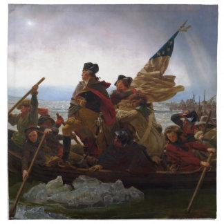 Washington Crossing the Delaware by Emanuel Leutze Napkin