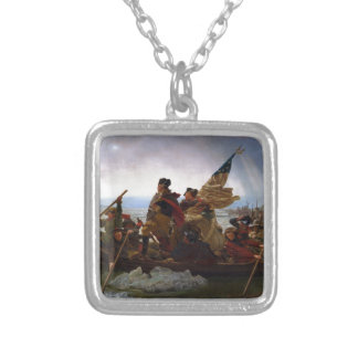 Washington Crossing the Delaware by Emanuel Leutze Necklace