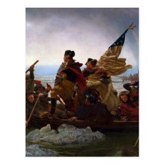 Washington Crossing the Delaware by Emanuel Leutze Postcards