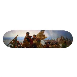 Washington Crossing the Delaware by Emanuel Leutze Skateboard Deck