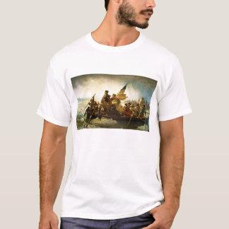 Washington Crossing the Delaware by Emanuel Leutze T-Shirt