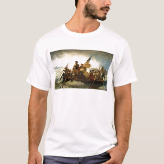 Washington Crossing the Delaware by Emanuel Leutze T-Shirt