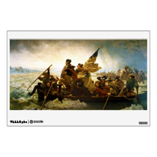 Washington Crossing the Delaware by Emanuel Leutze Wall Sticker