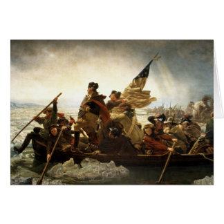Washington Crossing the Delaware Card