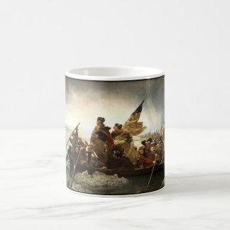 Washington Crossing The Delaware Classic White Coffee Mug