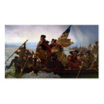 Washington Crossing the Delaware Double-Sided Standard Business Cards (Pack Of 100)