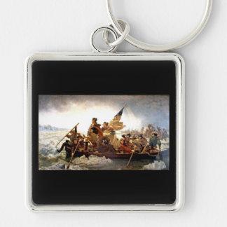 Washington Crossing the Delaware Keychain