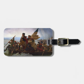 Washington Crossing the Delaware Luggage Tag
