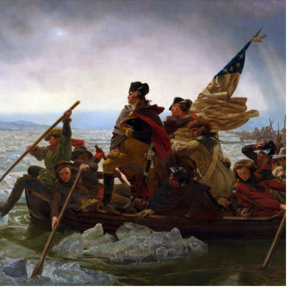 Washington Crossing the Delaware Cut Outs