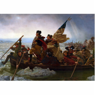 Washington Crossing the Delaware Acrylic Cut Outs