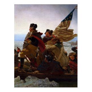 Washington Crossing the Delaware Postcards