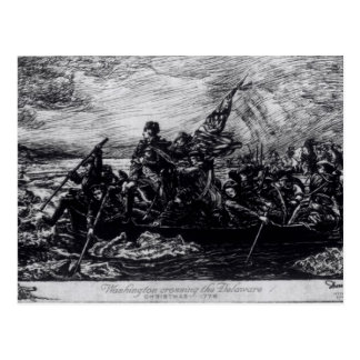Washington Crossing the Delaware Postcard