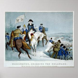 Washington Crossing the Delaware Poster