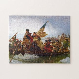 Washington Crossing the Delaware Puzzle