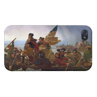 Washington Crossing the Delaware River iPhone 4/4S Cover