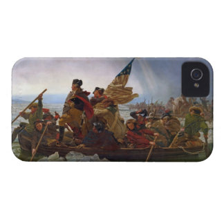 Washington Crossing the Delaware River iPhone 4 Case-Mate Case