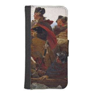 Washington Crossing the Delaware River iPhone SE/5/5s Wallet Case