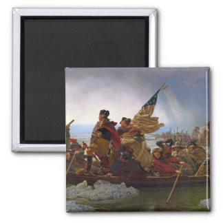 Washington Crossing the Delaware River Fridge Magnet