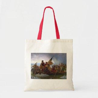 Washington Crossing the Delaware River Tote Bag
